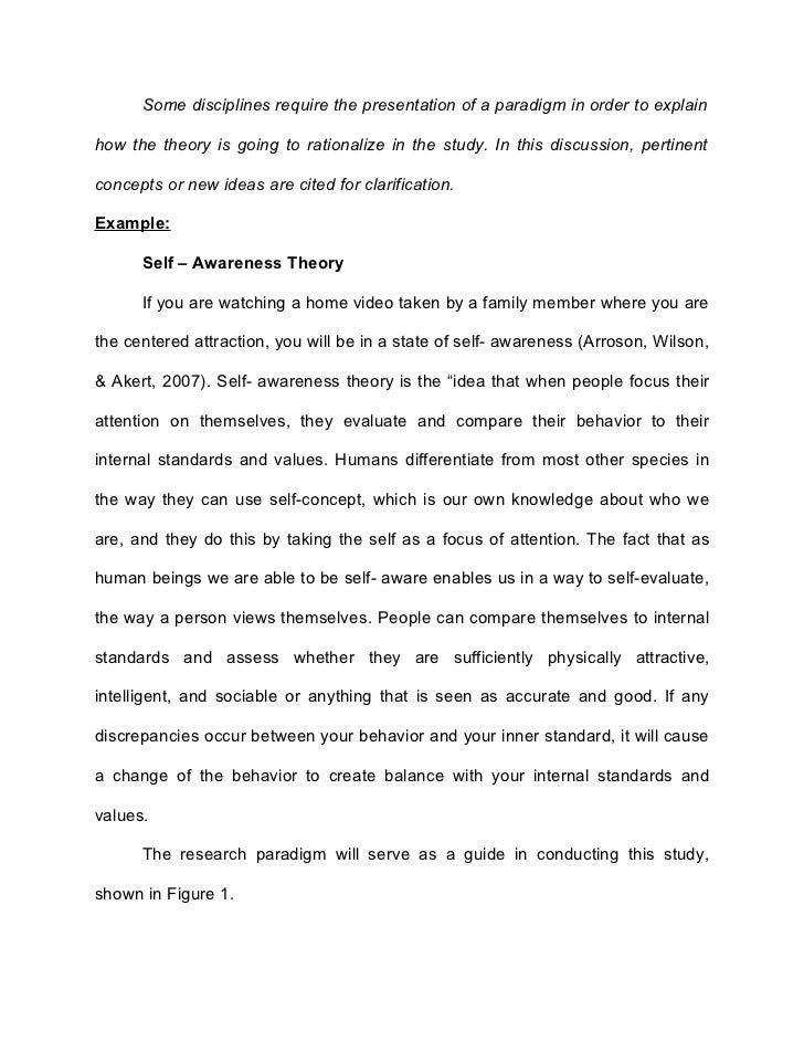 Thesis about self awareness in psychiatric nursing