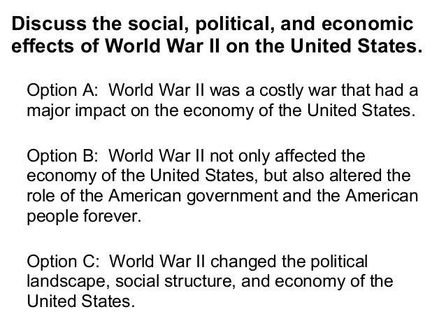 Thesis statement about war