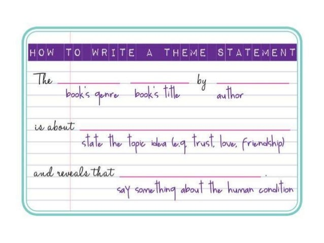 How to write a thesis statement for criminal justice