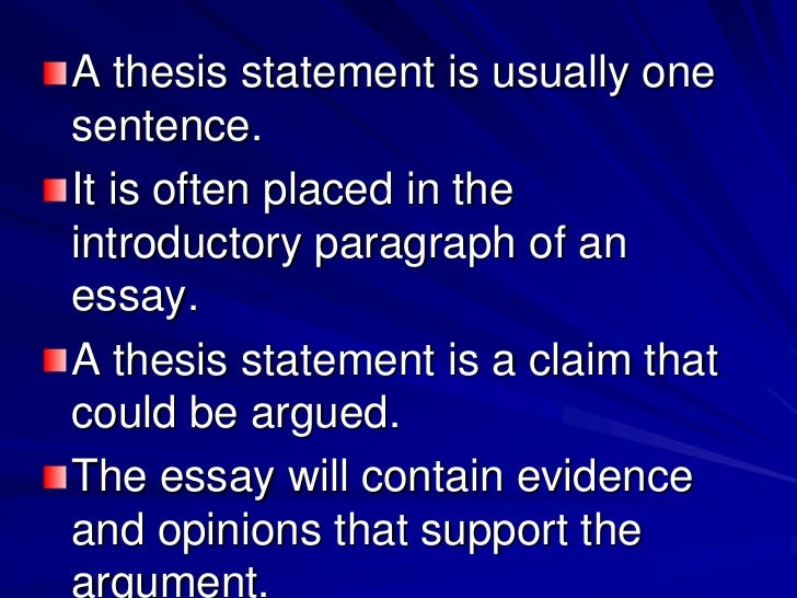 thesis statement on computers Swedish university essays about a thesis statement for computer search and download thousands of swedish university essays full text free.