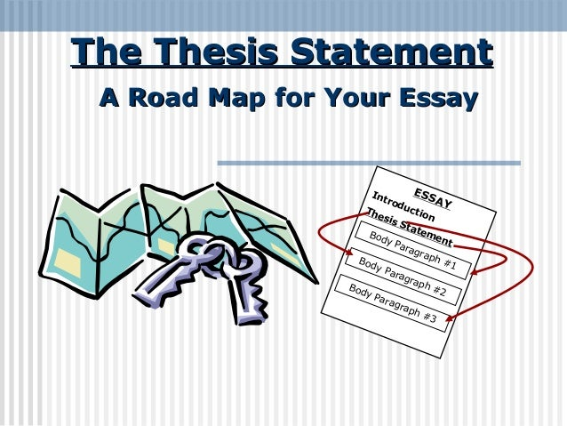 thesis statement essay map