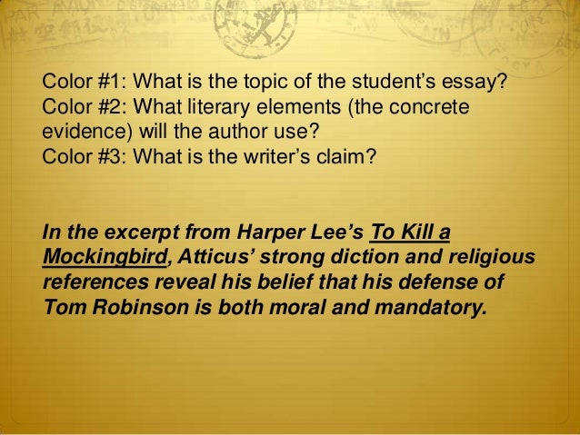 thesis statements for to kill a mockingbird