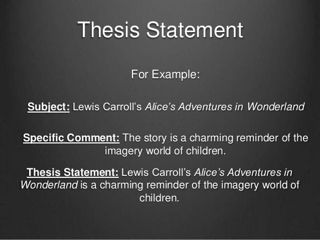 what are thesis statements These formulas share two characteristics all thesis statements should have: they state an argument and they reveal how you will make that argument.