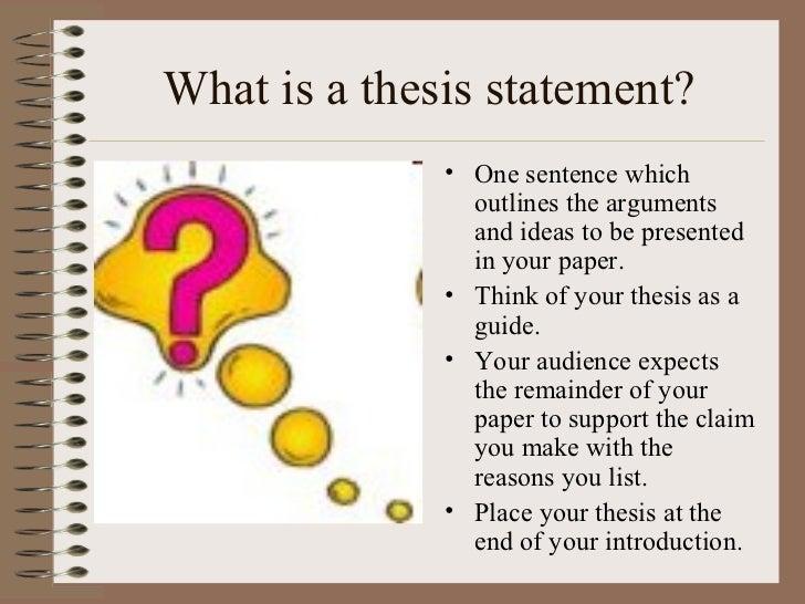 Hamlet thesis statement