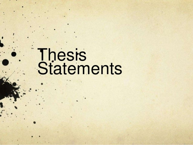 long thesis statements