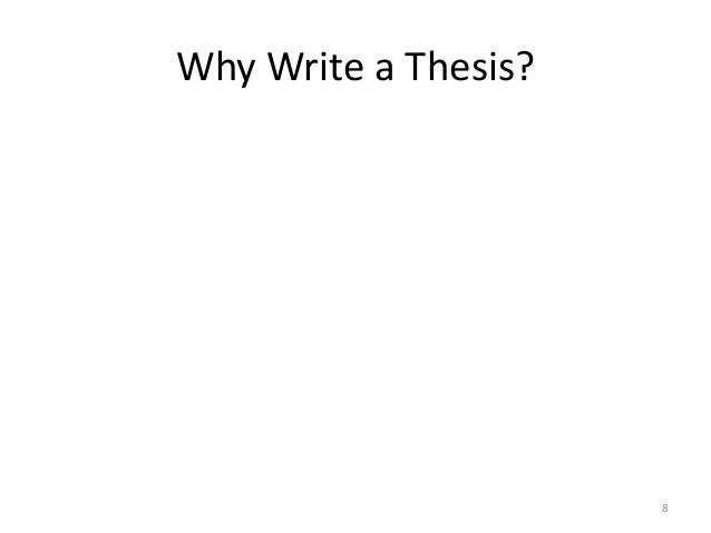 research design for thesis