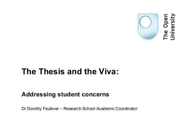 Thesis & viva student version 2013 [compatibility mode]