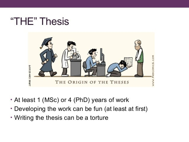 How write phd thesis