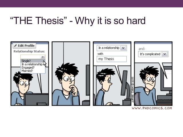 How to write my thesis
