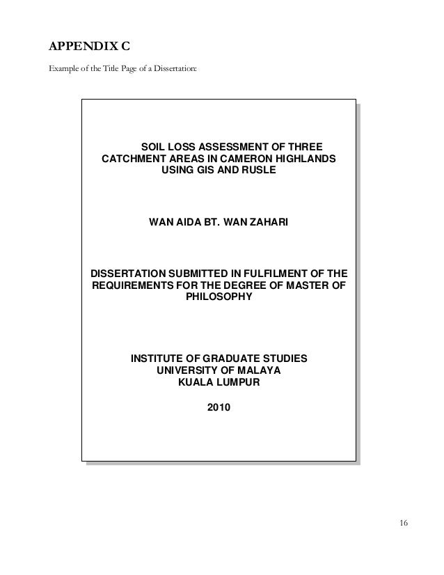thesis doc Sample thesis pages (revised january 2015) the graduate college gradillinoisedu/thesis-dissertation.
