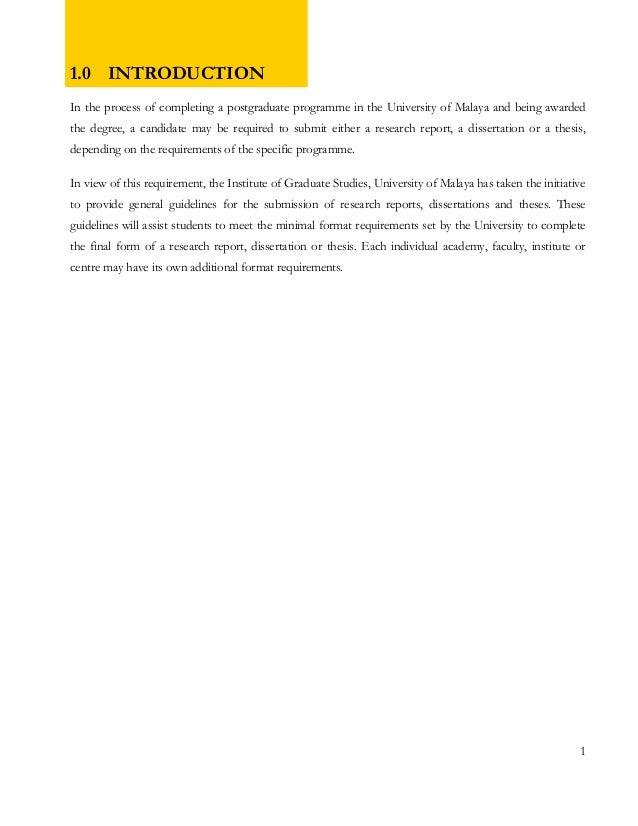 Writing thesis and apa