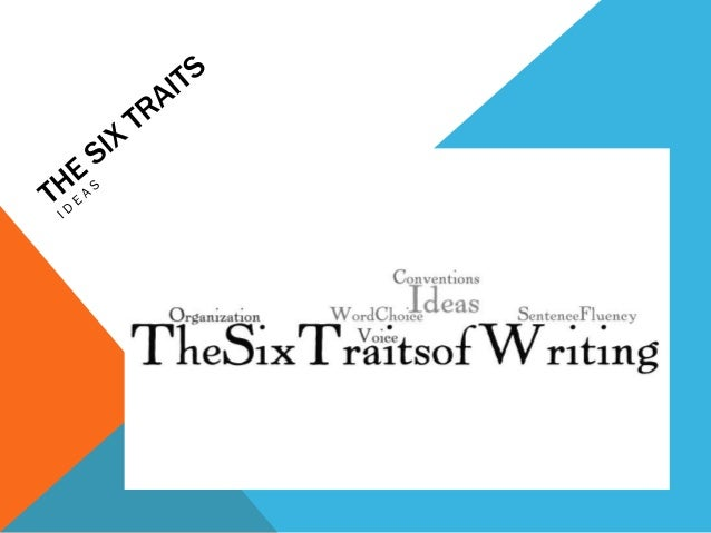The six traits  ideas