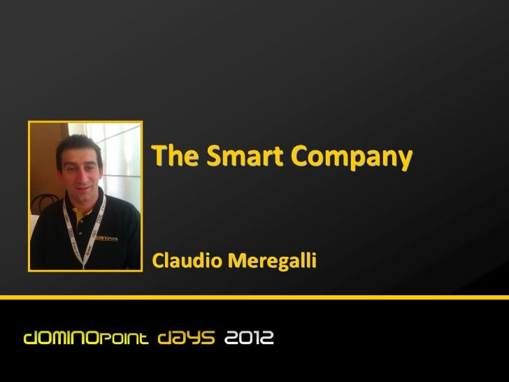 The Smart CompanyClaudio Meregalli