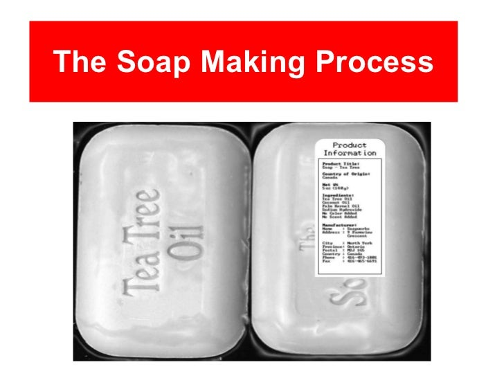 The Soap Making Process