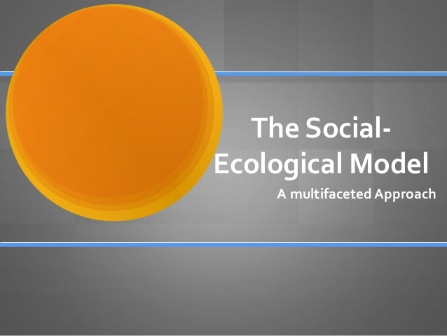The social ecological model