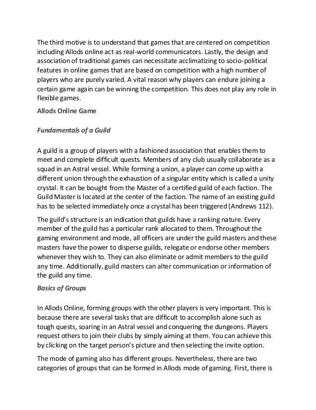 Social interaction essay