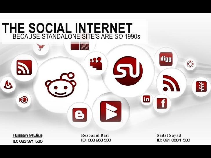 The Social Internet