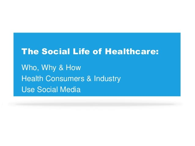 The social life of healthcare