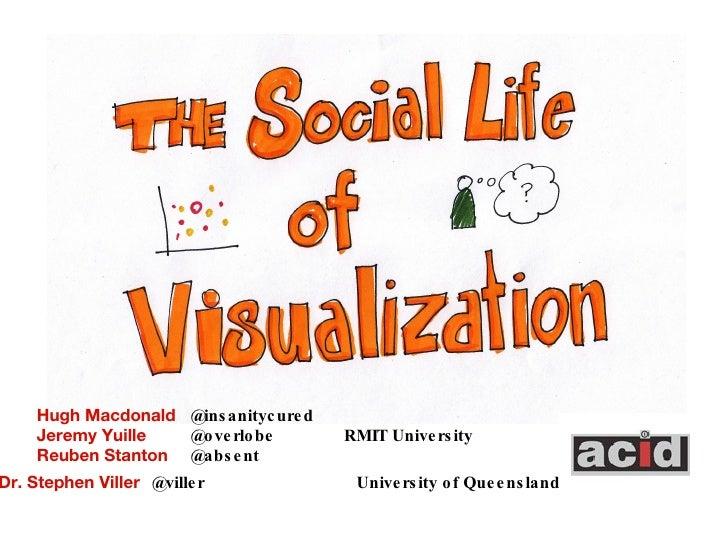 The Social Life Of Visualization OzChi Nov 2009