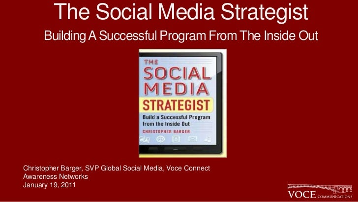 The social media strategist   awareness 1-19-12 v4