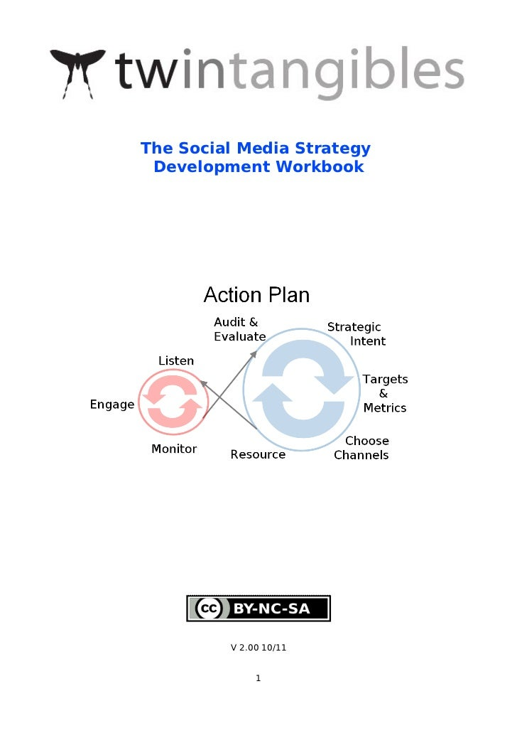 The social media strategy development workbook - twintangibles
