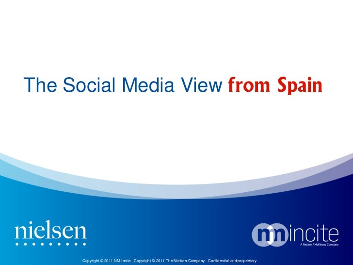 The social media view from Spain 2011