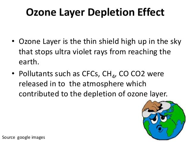 human race contribution to depleting the ozone layer Un scientists say ozone layer depletion has stopped the human race must take preventive actions to minimize the global warming caused by chlorofluorocarbons.