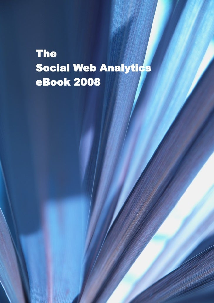 The Social Web Analytics eBook 2008