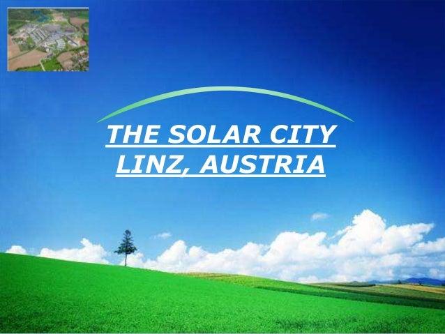 LOGO THE SOLAR CITY LINZ, AUSTRIA