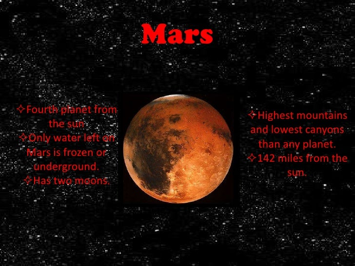 solid planet mars - photo #6
