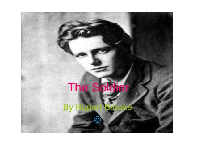 The Soldier By Rupert Brooke 