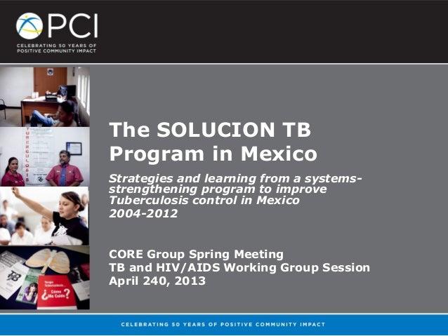 The Solucion TB Program in Mexico_Jessica Chen