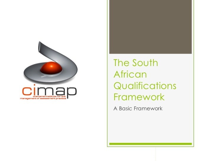 The South African Qualifications Framework
