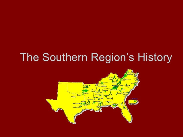 The Southern Region's History