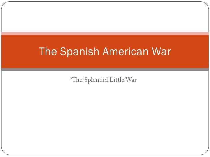 The spanish american war foldable