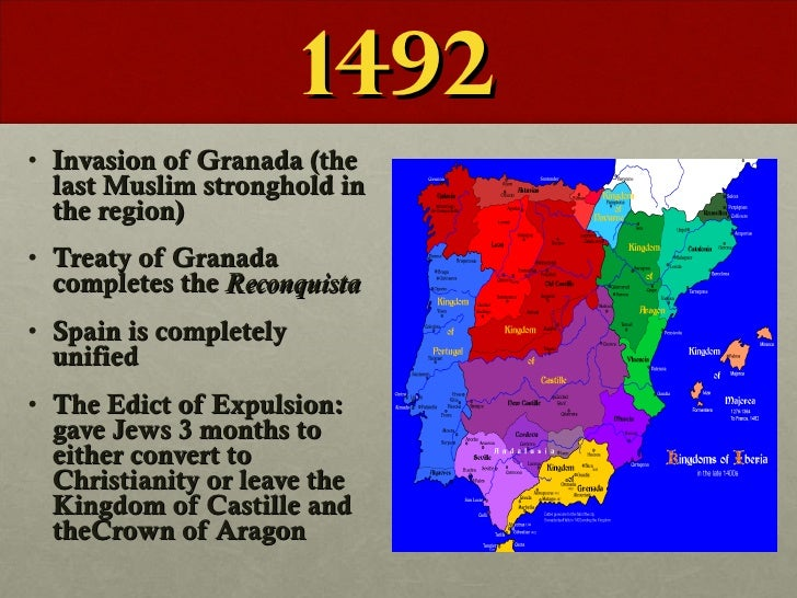 Spanish Inquisition and Moorish Invasions?