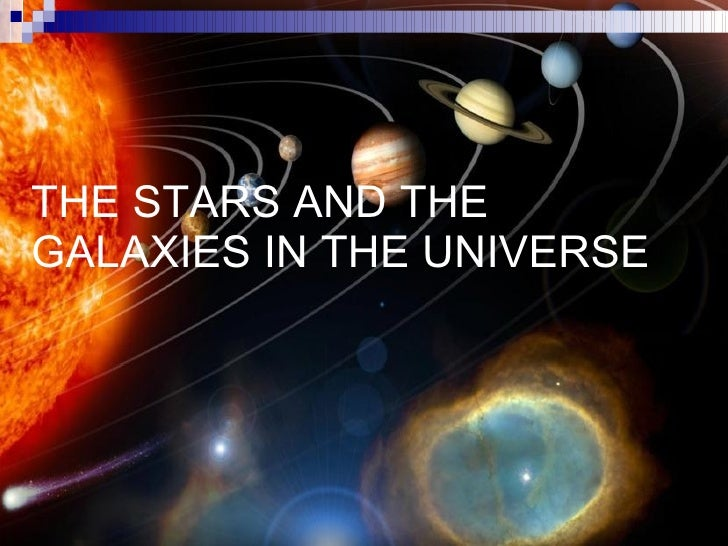 The Stars And The Galaxies In The Universe 2 L
