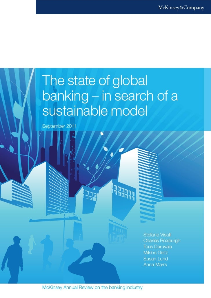 The state of global banking   in search of a sustainable model