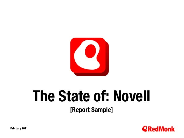 The State of: Novell                      [Report Sample]February 201110.20.2005