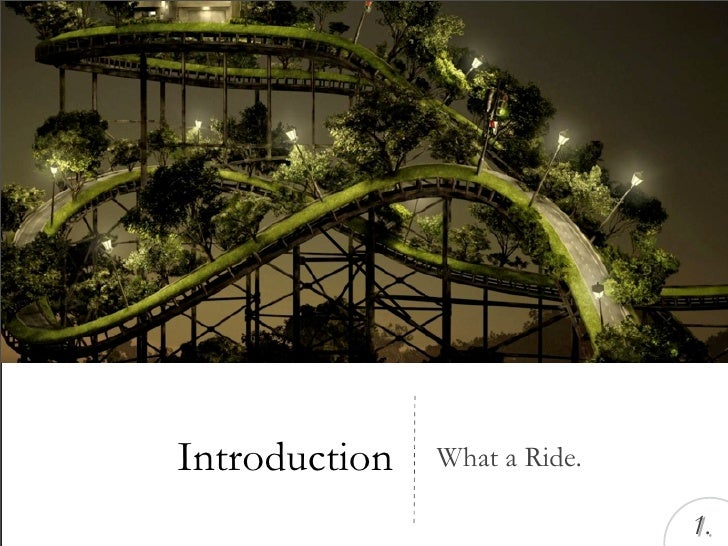 Introduction   What a Ride.                                1.