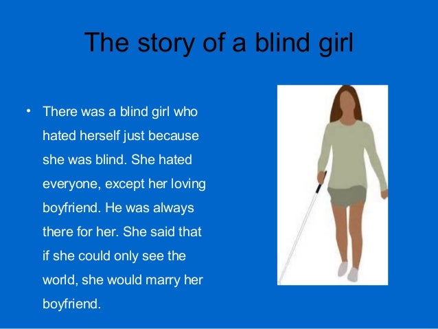 blind girl story sex