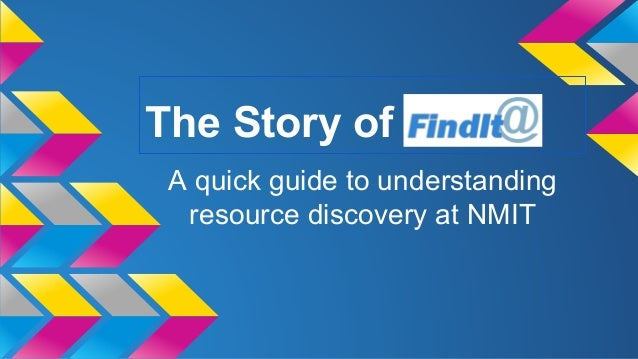 The story of find it@