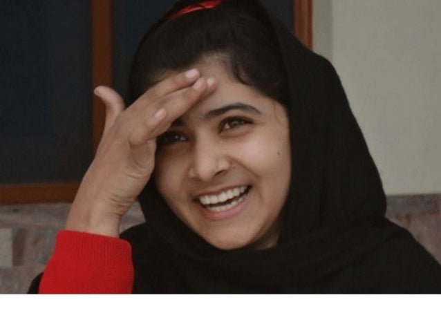 The story of malala yousufzai   in pictures