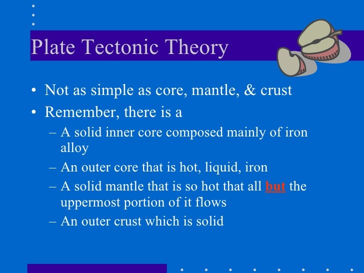 Story Plate Tectonics Plate Tectonic Theory