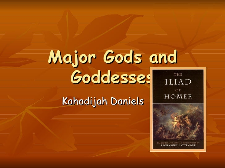 The story of the iliad by kahadijah daniels