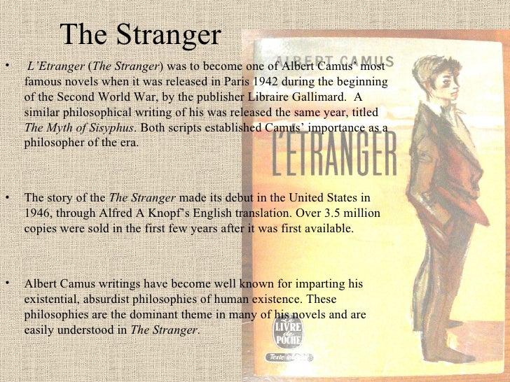 The stranger essay
