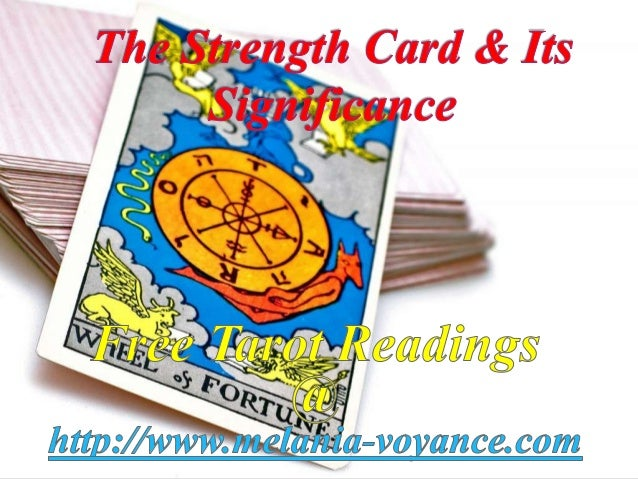 The strength card & its significance