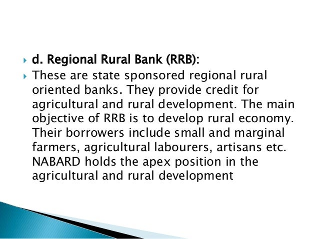 role of nigeria agricultural cooperative and rural development bank The role of community banks in economic development:  bank of nigeria over community  and the nigeria agricultural, cooperative and rural development.
