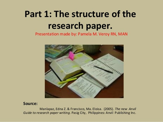 Research paper structure help