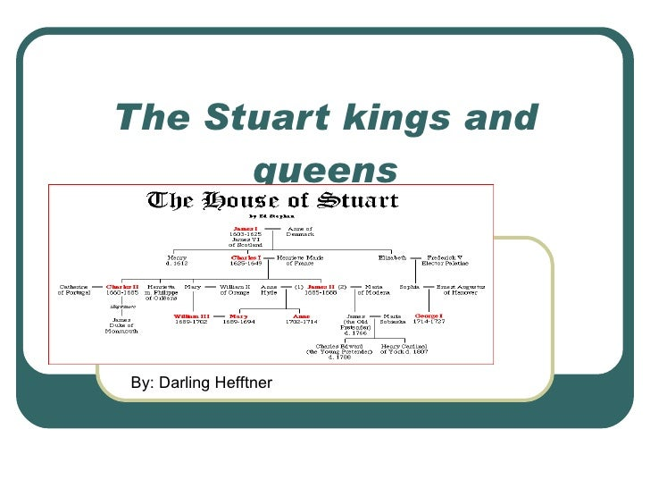 The Stuart kings and queens By: Darling Hefftner
